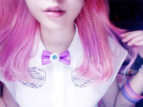 Фото на аву цветные волосы
