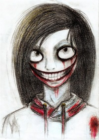 Sad jeff the killer crying