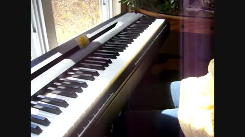 Hoppipolla, Sigur Ros - piano