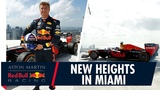 Reaching New Heights David Coulthard Completes Donut on the Tallest Building in Miami