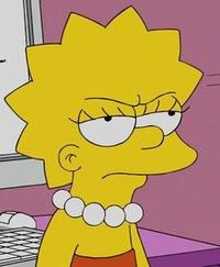 картинки симпсон лиза