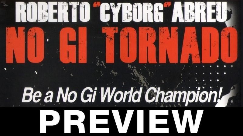 No Gi Tornado Guard 4 DVD Set by Roberto Cyborg Abreu Available at Budovideos.com
