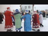 Парад Дед морозов и Снегурочек
