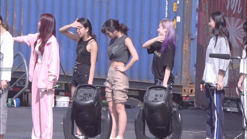 181201 Kpop concert on GUAM YES OR YES rehearsal MOMO fancam 예스오어예스 리허설 모모 직캠