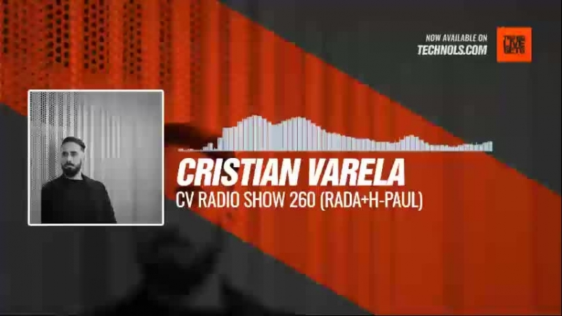 Techno music with @cristianvarela - CV Radio Show 260 (RADAH-PAUL) Periscope