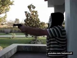 Стрельба по-македонски! Как правильно стрелять из пистолета. Техника стрельбы.