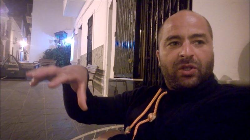 170821 Tapaaminen Tarifassa, taloustiedettä Tangerista