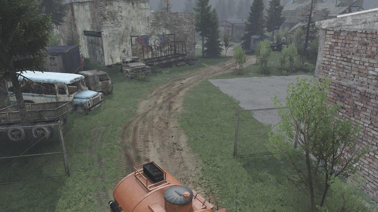 "Карта ""Level_7days"" для v.23.10.15 для Spintires - Скриншот 3"