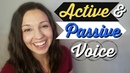 How to use Active and Passive Voice in English