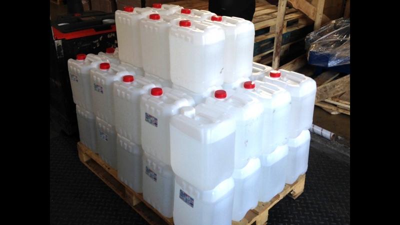 В Добруше милиционерами изъято полтонны спирта и 70 литров контрафактной водки