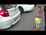 3-х летняя девочка знает все марки автомобилей