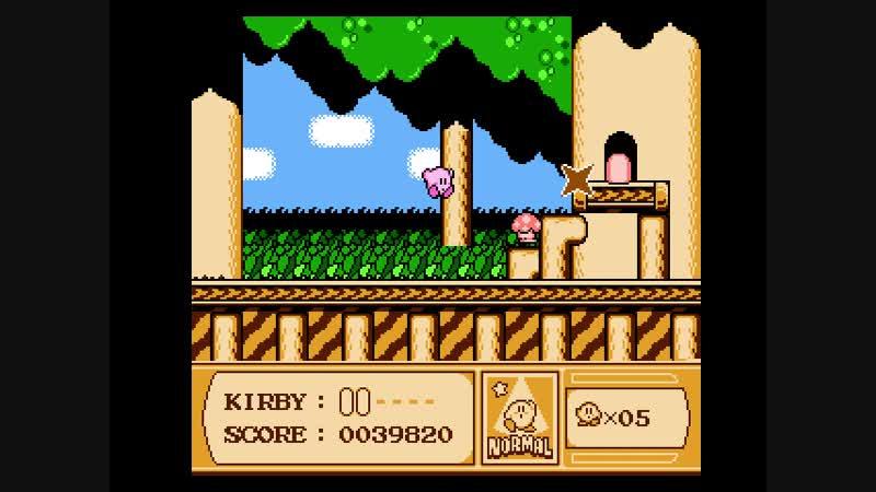 2-1 Kirbys Adventure Vegetable Valey