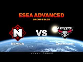 Nemiga vs Berzerk // ESEA Advanced // GROUP STAGE