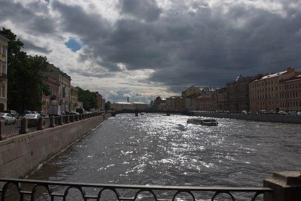 Питер, река, мост