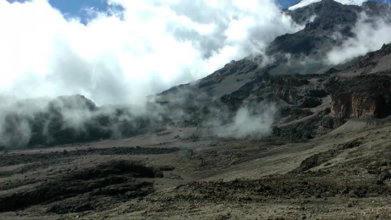 Восхождение на гору Килиманджаро - видео экскурсия в HD c дрона (квадрокоптера)