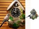 Часы с кукушкой «Весенняя мелодия», «Поющий сад» domatv.by