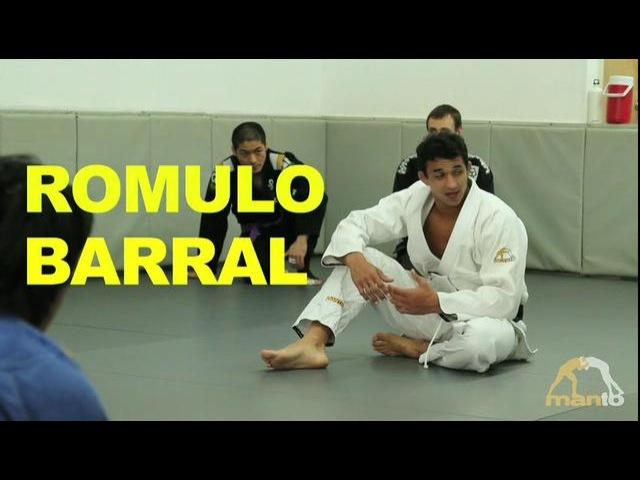 Highlight of Romulo Barral's spider guard seminar at Clockwork BJJ Academy