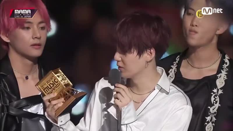 Worldwide Icon Of The Year │2018 MAMA FANS' CHOICE in JAPAN 181212