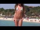 Young Beautiful Model Sexy Mini Bikini Show