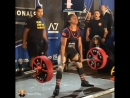 Саманта Колхоун - тяга 225,5 кг (63 кг)