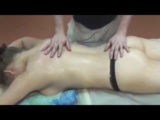 Антицеллюлитный массаж. Проработка задней поверхности тела. Anticellulite massage of the body
