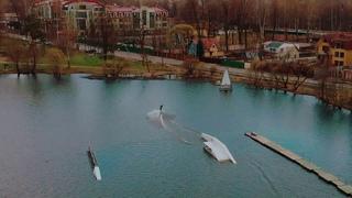 Wakeboard (вейкборд) на озере СПб
