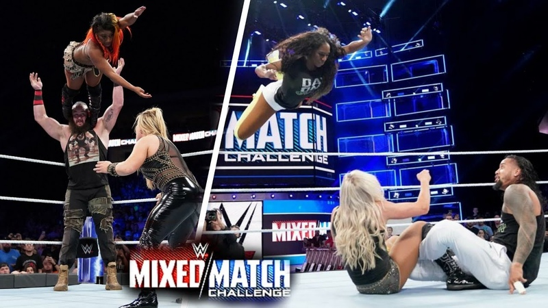 WWE Mixed Match Challenge S02 E01 Highlights - WWE Mixed Match Challenge 18 September 2018 Highlight