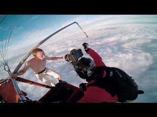 ПРЫЖОК БЕЗ ПАРАШЮТА.Antti Pendikainen - Hot Air Balloon Ride
