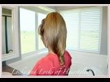 Medium or Long Hair Tutorial:  Flirty Ponytail