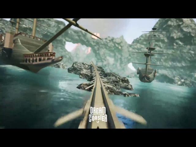 Dream Coaster VR Steam Trailer