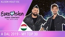 Eurovision 2019 Hungary (A Dal) - My Top 30