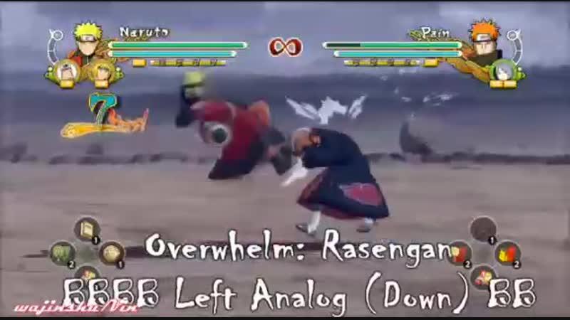 Naruto sage mode moveset (speed up)