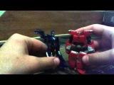 Обзор на игрушку трансформеры прайм Арси