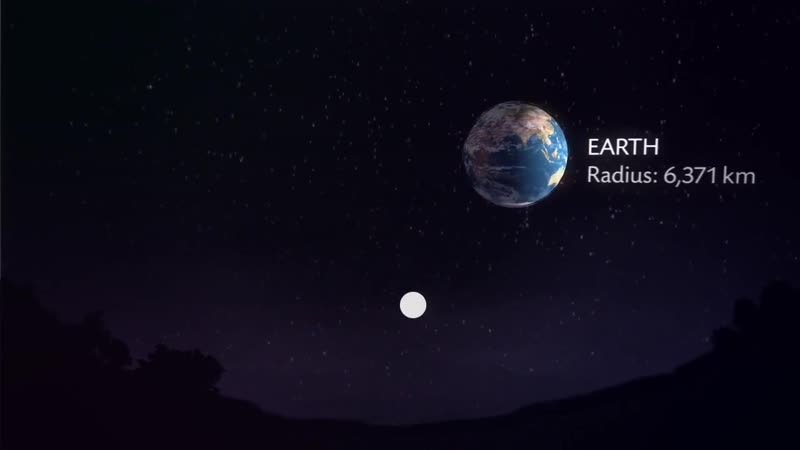 Amazing video - Planets viewed from Earth as if they were at the distance of our moon