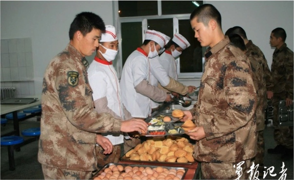 Рацион питания в китайской армии: что в сухпайке с иероглифами
