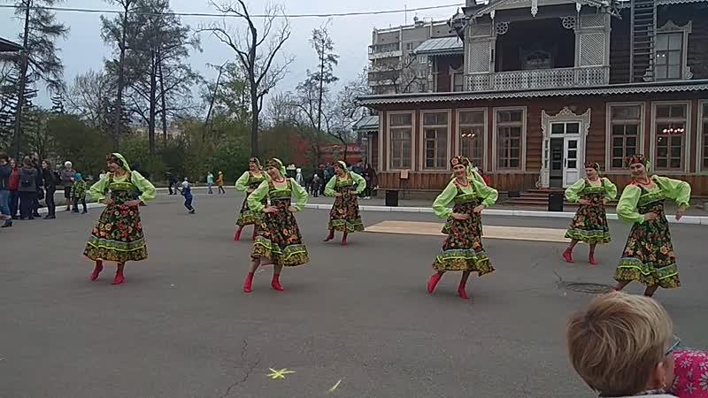 Барыня. Выступление в усадьбе Сукачевых
