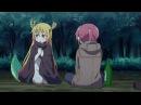 Дракон-горничная госпожи Кобаяши 12 серия (AniDub/AD)