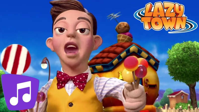 Lazy Town | The Mine Song Music Video