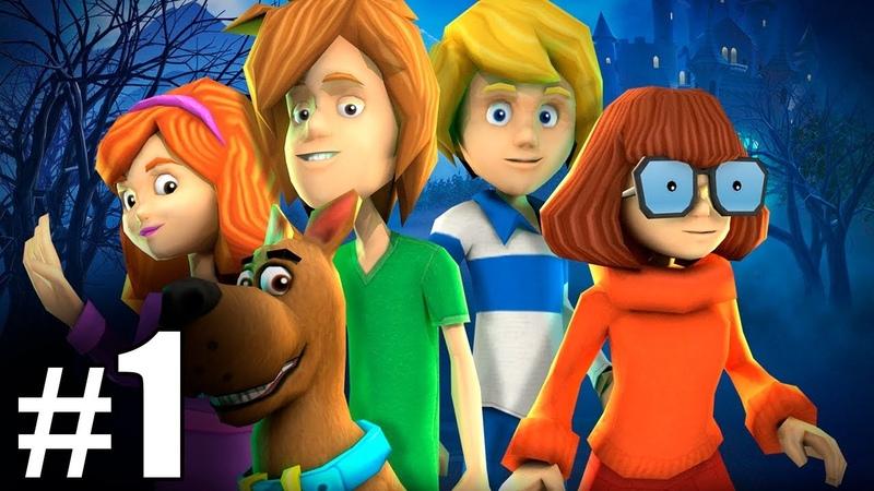 1 Обзор и летсплей по игре Скуби Ду Зловещий замок Letsplay game Scooby Doo First Frights