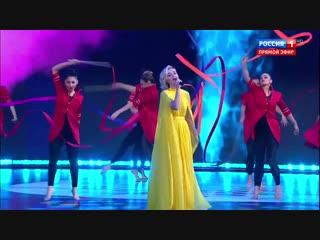 Полина Гагарина на церемонии вручения премии «Доброволец России»