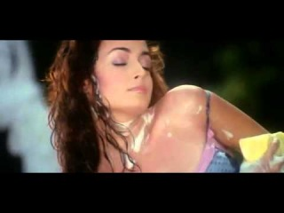 Dia Mirza Car Wash Hot Scene In Naam Gum Jaayega Movie
