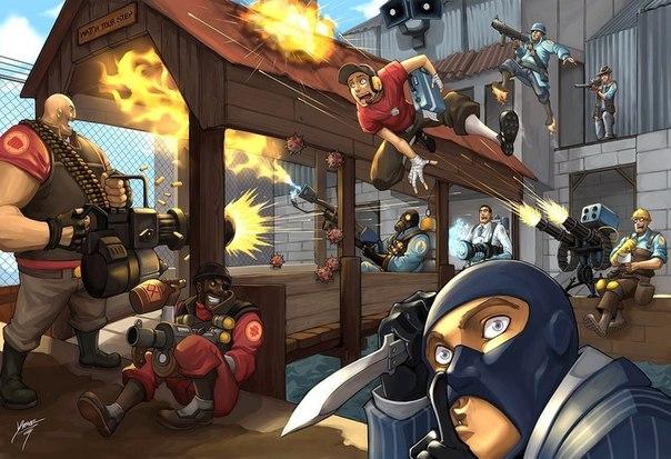 текстуры team fortress 2: