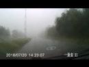 Как я попал в шторм по дороге на работу