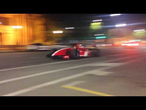 Ferrari FXX, F40 LM, 599XX Vintage F1 cars leaving Adelaide Motorsport Festival 2017