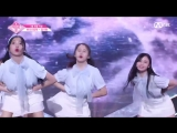 PRODUCE 48 1:1 eye contact | Ким Наен (Banana Culture) - Gfriend Love Whisper Team 2 group battle
