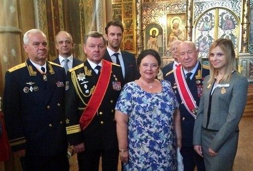 Княгиня Романова наградила Поклонскую женским Императорским Орденом Святой Анастасии в честь присоединения Крыма