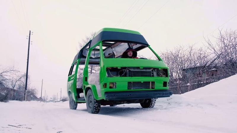 Зелёное ТЕЛО или как построить покрасочную камеру из топора..=)