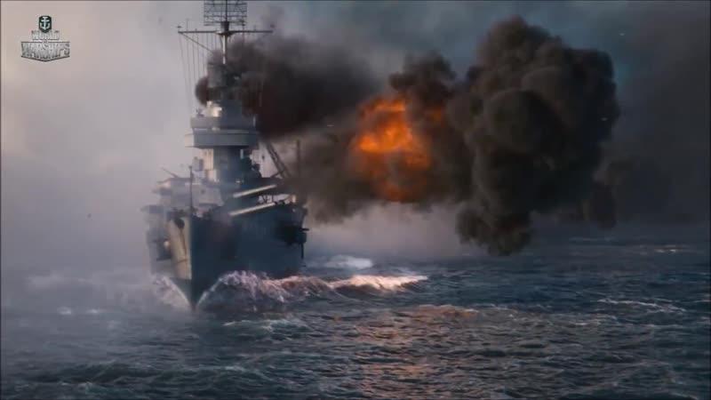 World of Warships. Камень против ножниц против бумаги CGI