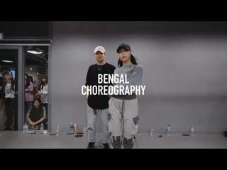 1million dance studio boy with luv - bts ft. halsey / bengal choreography