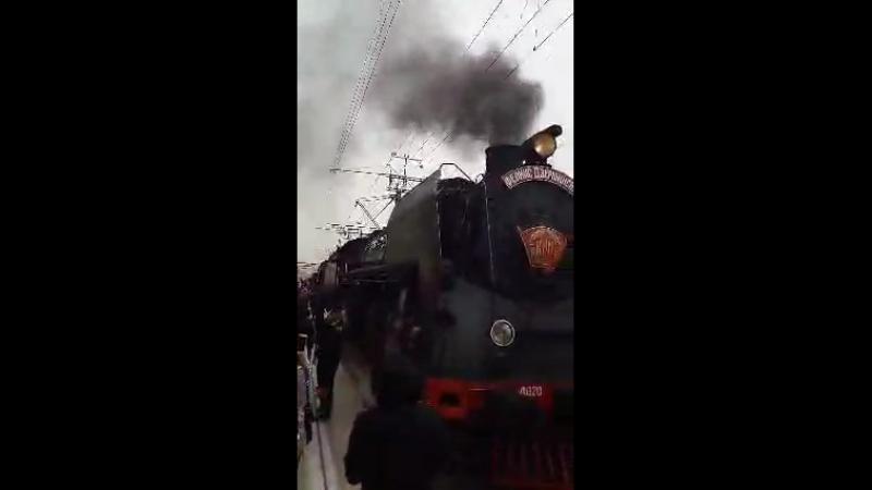 Прибытие поезда по-краснодарски